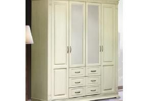 Какой выбрать шкаф из массива белого цвета?